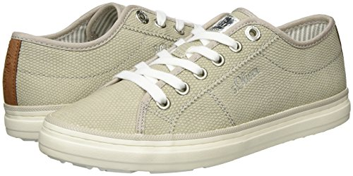 lt Grey Basses 210 oliver Sneakers Femme 23640 Gris S 1PYxzwA