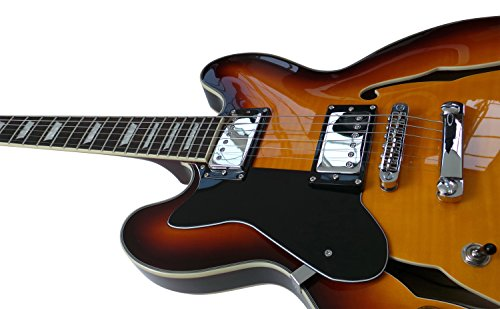 Zurdos ES-335 Semi Pack de guitarra eléctrica, hueca cuerpo mejor ES335: Amazon.es: Instrumentos musicales