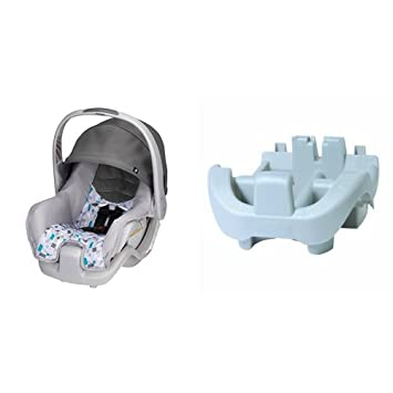 Evenflo Nurture Infant Car Seat Teal Confetti With Base Silver