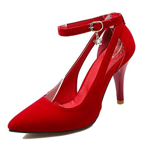 Compensées Onewus Onewus Rouge Femme Sandales Sandales rqZ7xtq