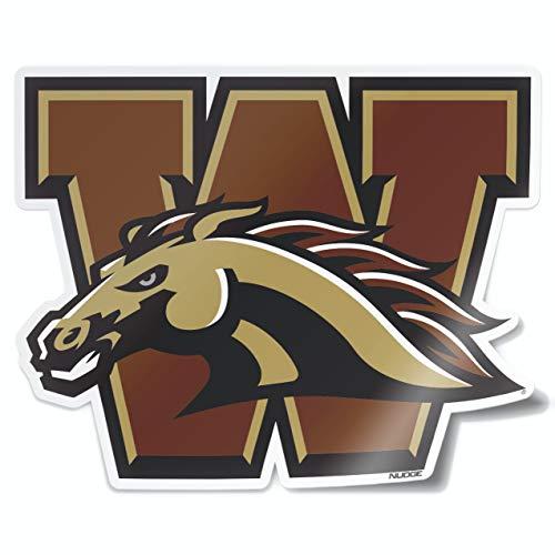Western Michigan University - Nudge Printing Collegiate Car Decal Sticker (Western Michigan University)