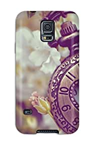 High-end Case Cover Protector For Galaxy S5(vintage Watch)