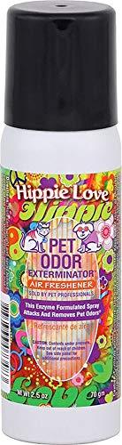 Pet Odor Exterminator 2.5oz Mini Spray, (Hippie Love)