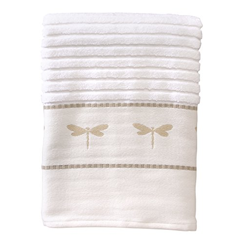 Creative Bath Products Dragonfly Jacquard Bath Towel