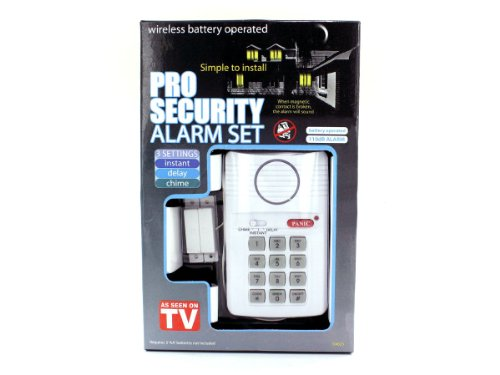 4 Packs of Professional security alarm set
