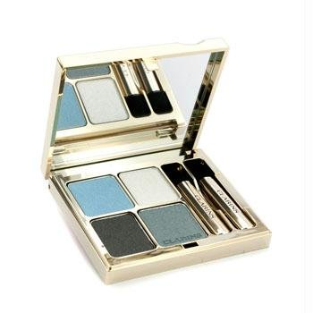 Clarins Eye Quartet Mineral Palette Long Lasting Eye Shadow, 08 Blue Sky, 0.2 Ounce (Quartet Color Clarins For Eyes)