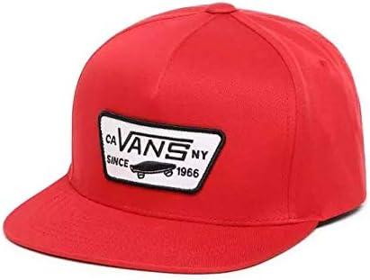 Vans - Gorra de béisbol para niño, Color Rojo: Amazon.es: Deportes ...