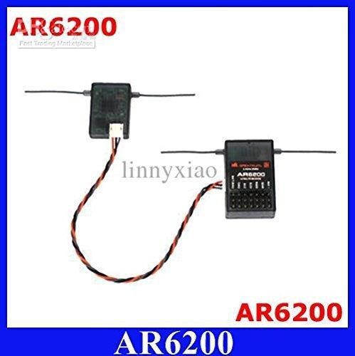 Rc Receiver (Spektrum AR6200 2.4G 6Ch Receiver for DX6i JR DX7)