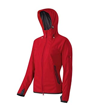 Mammut Softshell Chaqueta ulimate. Mujer. Diseño Bonito. Gore Windstopper. trapito, Mujer, Color Inferno, tamaño Extra-Large: Amazon.es: Deportes y aire ...