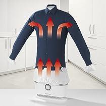 CLEANmaxx Plancha automatica para camisas y blusas