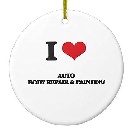 Amazon Com Christmas Crafts I Love Auto Body Repair Painting