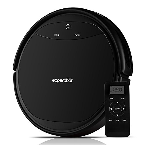 Experobot Robotic Vacuum Cleaner Strong Suction for Hard Floor and Carpet,...