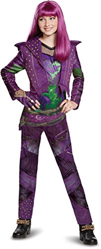 Costume 2 - Disney Mal Deluxe Descendants 2 Costume, Purple, Medium (7-8)