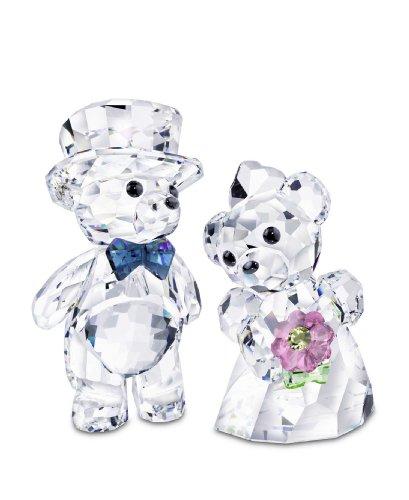 Swarovski Moments Kris Bear Bride And Groom 2in