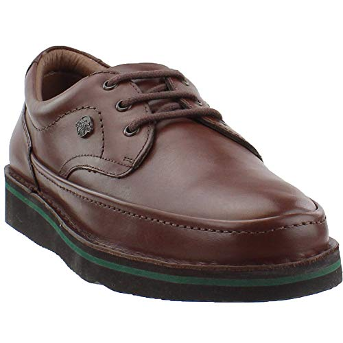 (Hush Puppies Men's Mall Walker Oxford,Antique Brown,10.5 M US)