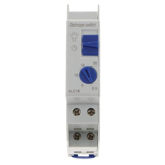 Piezas de Interruptor de Relé de Tiempo Temporizador Escaleras 220 ...