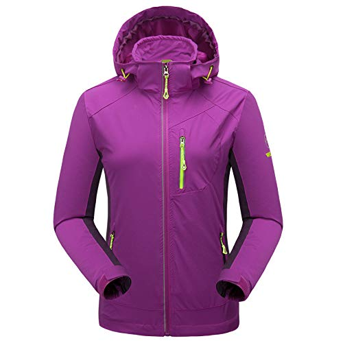 Women Con Impermeabile Cappuccio Purple Uomo donna Antivento Cappotto Per Tv1Bqw1A8