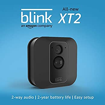 All-new Blink XT2 Outdoor/Indoor Smart Security Camera with cloud storage included, 2-way audio, 2-year battery life