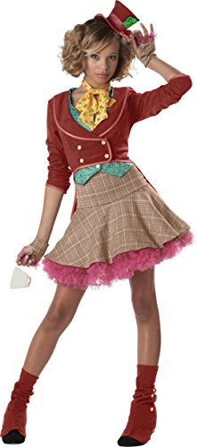 [The Mad Hatter Costume - Teen Medium] (Girl Marvel Character Costumes)