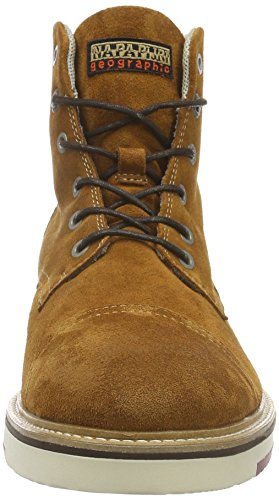 Napapijri C4, Zapatillas de Estar por Casa para Hombre Mostaza