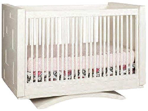 Capretti Design Milano Crib To Twin Toddler Rail and Adult Rails/Platform, Natural by Capretti Design