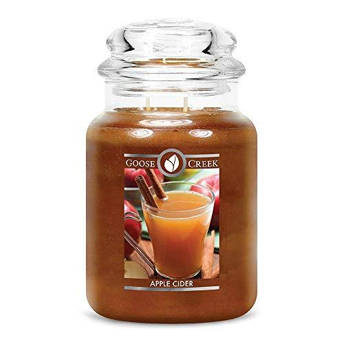 Goose Creek Scented Candles Apple Cider Large Jar Candle Great Fragrance 24 oz