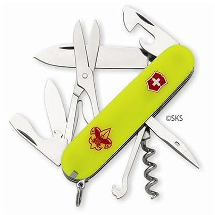 Amazon.com: Swiss Army Boy Scout Climber Stayglow: Sports ...