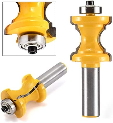 NO LOGO ZZB-ZT, 1pc Stahl Bullnose Fräser 1/2 '' Shank Bead Säule Gesicht Molding Fräser Holzbearbeitung Werkzeug (Size : 75mm)