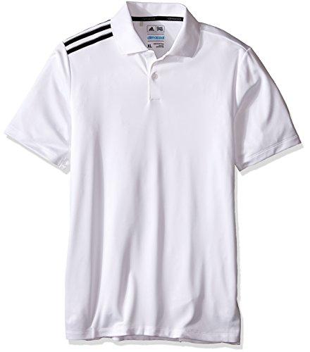 adidas Golf Boys B Climacool 3-Stripes Polo Shirt