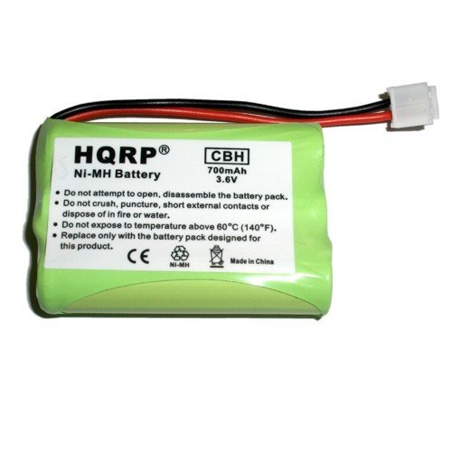 HQRP Cordless Phone Battery for General Electric GE 5-2721 / 52721 Replacement plus (General Electric Cordless Phones)