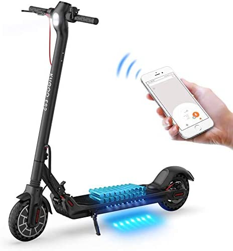 Motore 350W PINENG Scooter Elettrico Pieghevole con App /& Interfaccia USB con Display a LED, Batteria elettrica 7.5Ah Scooter Elettrico velocit/à Massima 25KM // H