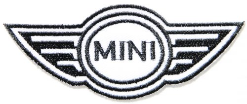 MINI COOPER Logo Sign Car Patch Sew Iron on Applique Embroidered T shirt Jacket Costume BY (Cooper Red Mini Intake System)
