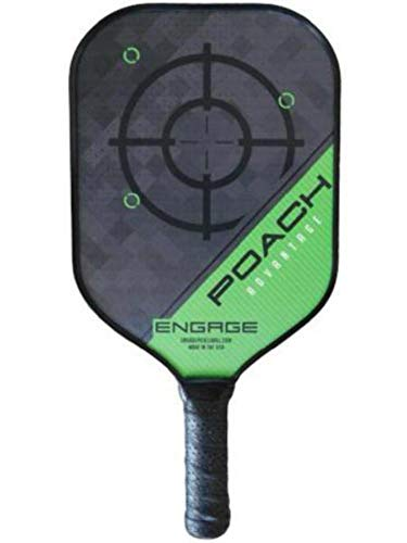 Amazon.com : Engage Poach Advantage Pickleball Paddle (Blue Standard 7.9-8.3 oz) : Sports & Outdoors