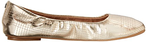 Wanted Shoes Womens Arion Ballet Flat Gold ZOPfEvcILi