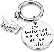 Udobuy Stainless Steel Pendant Always Remember You are Braver Than You Believe Inspirational Letters Engraved