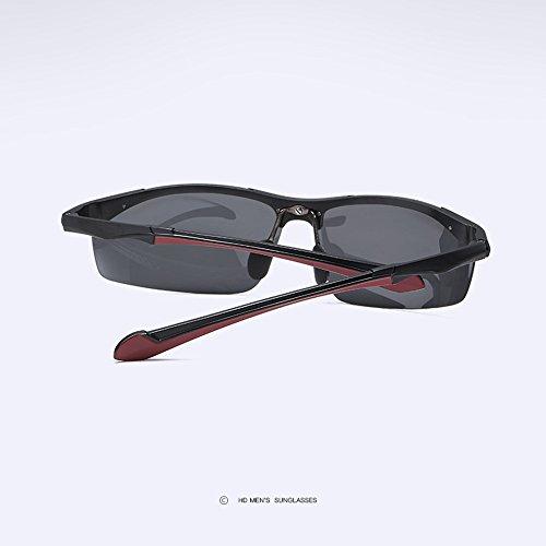 Al amp;HA para Blackgray Blackgray Gafas Polarizadas Z Sin Bordes De Antideslumbrante HD Gafas Conductor De Sol Deportivas Hombre MG Conduciendo Gafas Sol Gafas FqqwSX