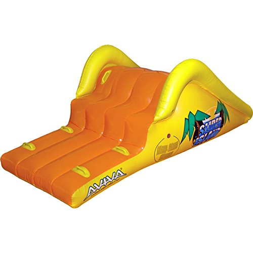 (Aviva RAVE Sports Slick Slider Island Pool Water Slide / 85