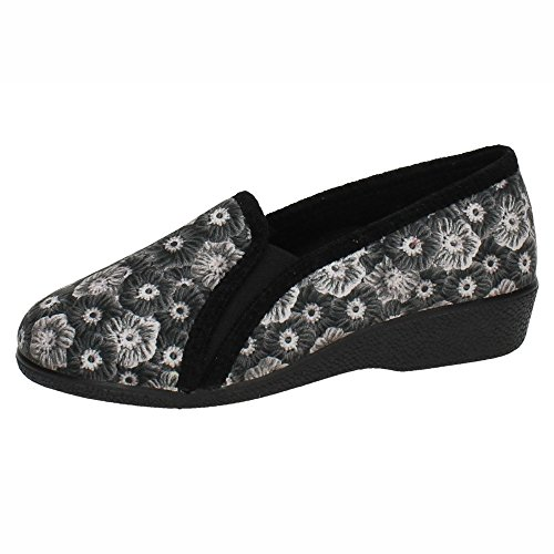 Nero Donna Spain In Pantofole Made qwItPxw