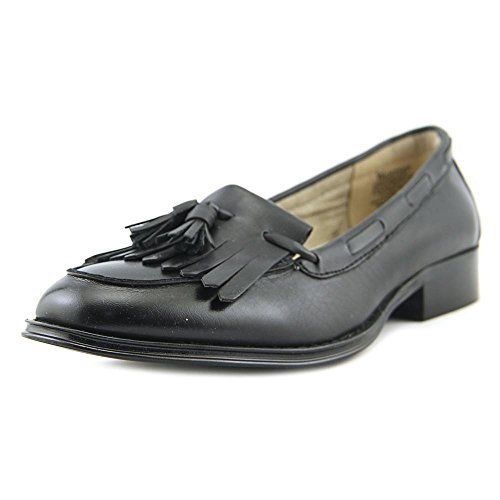 Wanted Shoes Frauen Charlie Loafers Schwarz Groesse 7.5 US/38.5 EU