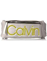 Calvin Klein Celia - Riñonera de piel vegana resistente al agua