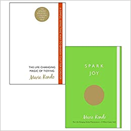 Life changing magic of tidying up, spark joy 2 books collection set