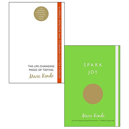 Book cover from Life changing magic of tidying up, spark joy 2 books collection set by marie kondo by Marie Kondo