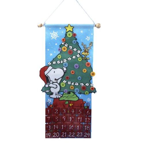 Kurt S. Adler 24-Inch Peanuts Advent Calendar by Peanuts