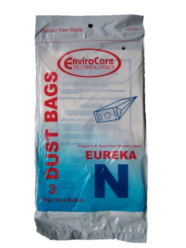 Type N Eureka Vacuum Cleaner Replacement Bag (10pack) for sale  Delivered anywhere in USA