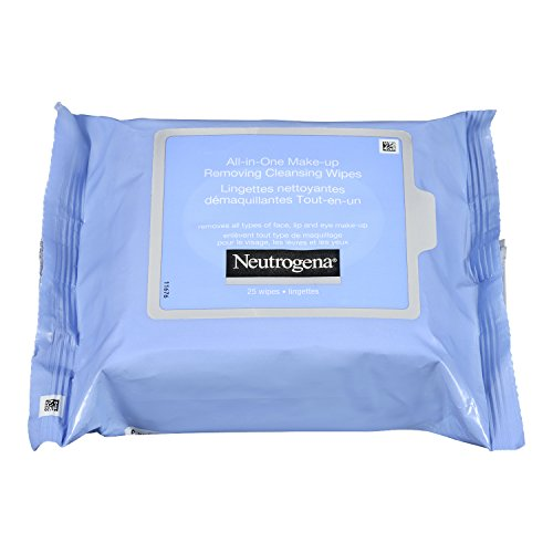 Neutrogena Makeup Remover Cleansing Towelettes, Refill Pack, 25 Count (Pack of 6)