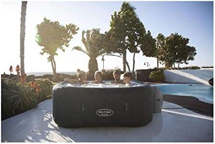 BESTWAY SPA Cuadrada Hinchable Ibiza 6 plazas AirJet: Amazon.es ...
