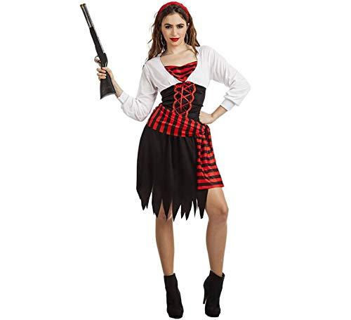 Car&Gus Disfraz de Pirata Zíngara para Mujer: Amazon.es: Juguetes ...