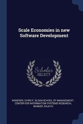 Scale Economies in new Software Development pdf epub