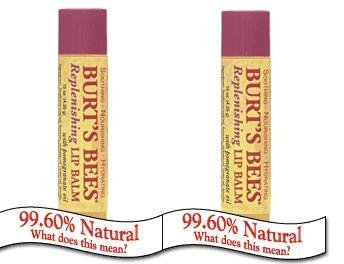 2 Pack of Replenishing Lip Balm with Pomegranate Oil