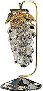Crystal Asfour 501/35 Crystal Grapes Decor - Gold And Transparent